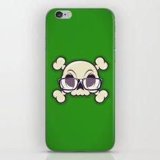 Nerd Skull iPhone & iPod Skin