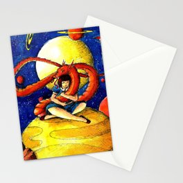 Dragon friend Stationery Cards