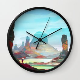 On another planet 2 Wall Clock
