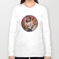 neil gaiman Long Sleeve T-shirts featuring Neil. by David