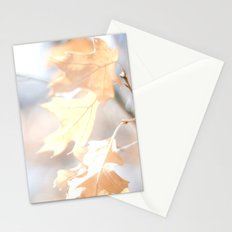 Abstract Oak Leaves Stationery Cards