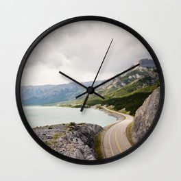 Icefields Parkway Wall Clock