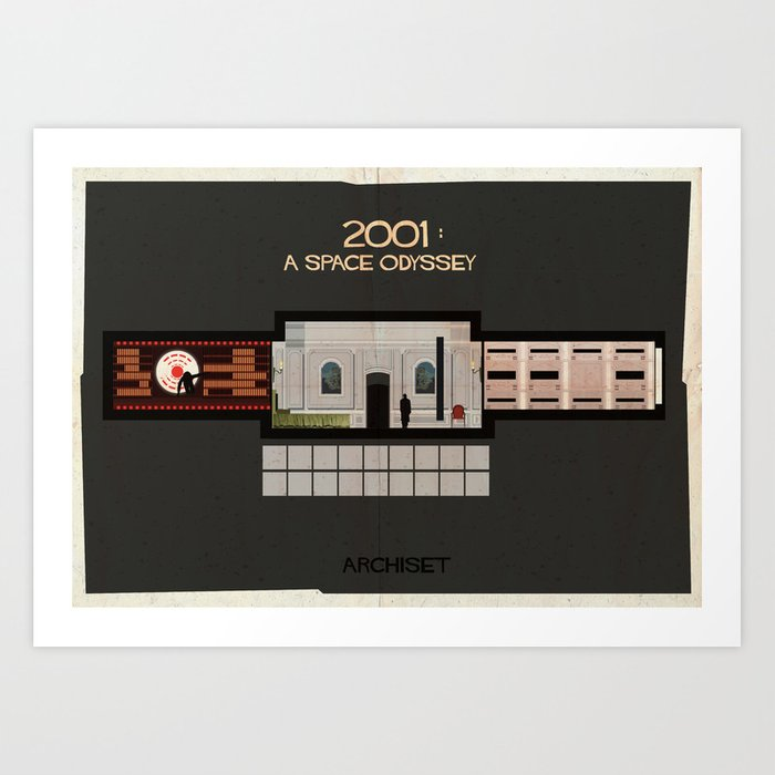 2001 A Space Odyssey_Directed by Stanley Kubrick Art Print