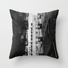 Downtown Los Angeles VII Throw Pillow