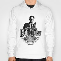 dale cooper Hoodies featuring Dale Cooper - Twin Peaks by KevinART