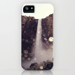 Mountain Waterfall iPhone Case