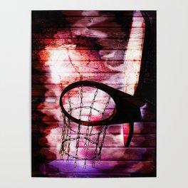 Basketball Artwork, Sports Art Poster