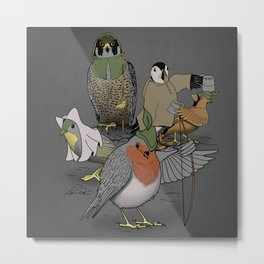 Robin and his merry friends. Metal Print