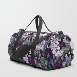 Rose Garden - Night II Duffle Bag