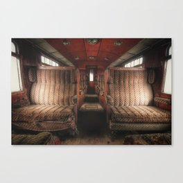 First Class Canvas Print