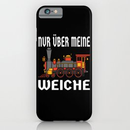Just About My Soft Railway Lover Design iPhone Case
