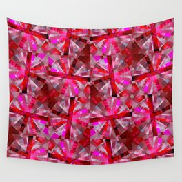 Ultimate Pink Pattern Wall Tapestry