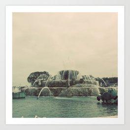 Buckingham Fountain Chicago Art Print