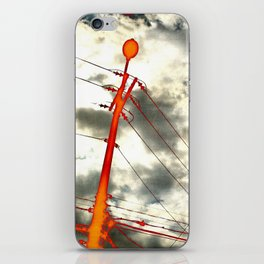 Vivid electricity iPhone Skin