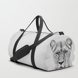 Lioness - Black & White Duffle Bag