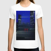 cityscape T-shirts featuring Cityscape  by eyedoublecross