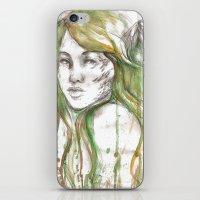 fairies iPhone & iPod Skins featuring Fairies by Alex Schol