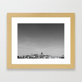 Society6 Istanbul Framed Art Print