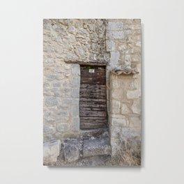 Provence Old Door Metal Print