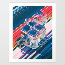 FUDGEPIES (11.10.15) Art Print