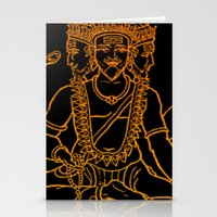 hindu Stationery Cards featuring Hindu by Littlefox