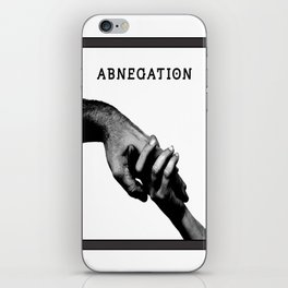 ABNEGATION - DIVERGENT (draw by me) iPhone Skin
