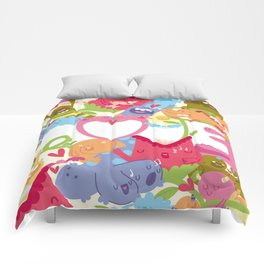 Monster Love Comforters