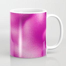 Luxury Fuchsia Foil Texture Coffee Mug