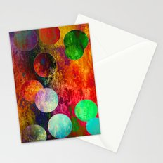 Mess of colors Stationery Cards