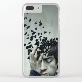 Teen Depression Clear iPhone Case