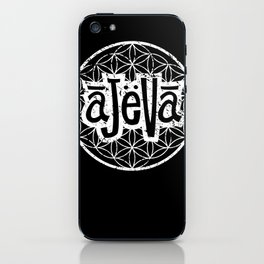 Ajeva Logo  iPhone Skin