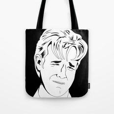 Crying Icon #1 - Dawson Leery - Black & White Variant Tote Bag