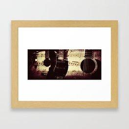 THE LINE UP Framed Art Print
