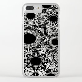 Mandala Madness! Clear iPhone Case
