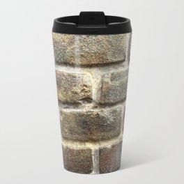 Glitter brick wall Travel Mug