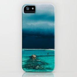 Maldivian storm iPhone Case