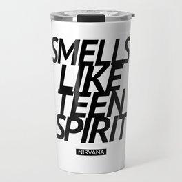 Smells Like Teen Spirit #black Travel Mug
