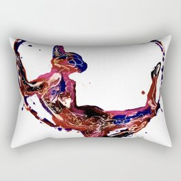 Splatter Hoop Rectangular Pillow
