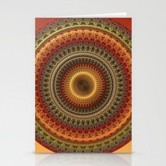 Mandala 02062013-1 Stationery Cards