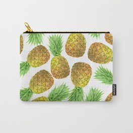 Pineapple watercolor pattern Carry-All Pouch