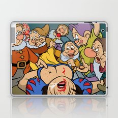 Pop Art Mashup: Pulp Fiction and Snow White Laptop & iPad Skin