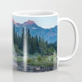 Pilot Peak - Mountain Scenery at Sunrise in Northeastern Yellowstone Coffee Mug