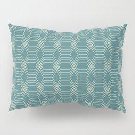 hopscotch-hex navajo Pillow Sham