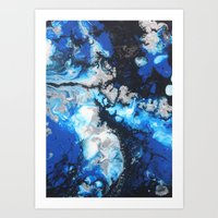Untitled Abstract 7 Art Print