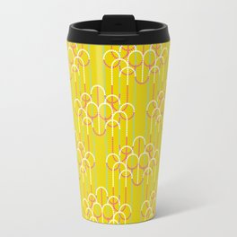 Chandeliers Yellow Travel Mug