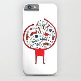 holding it all together iPhone Case