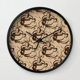 Java Love 1B by Kathy Morton Stanion Wall Clock