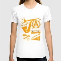 jazz T-shirts featuring Jazz by Veronica S