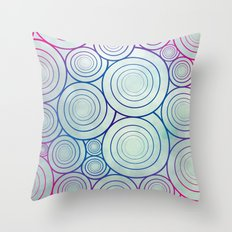 A Plethora of Curls Throw Pillow