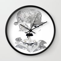 chaplin Wall Clocks featuring C. Chaplin by Ina Spasova puzzle